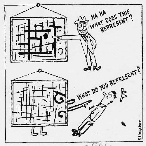 How to Look at Modern Art (detail) - Ad Reinhardt