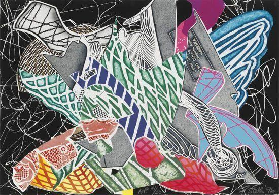Hudson River Valley - Frank Stella
