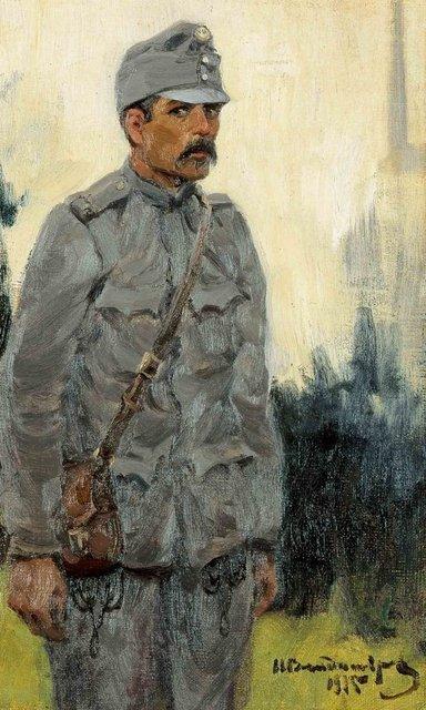 Hungarian soldier - Ivan Vladimirov