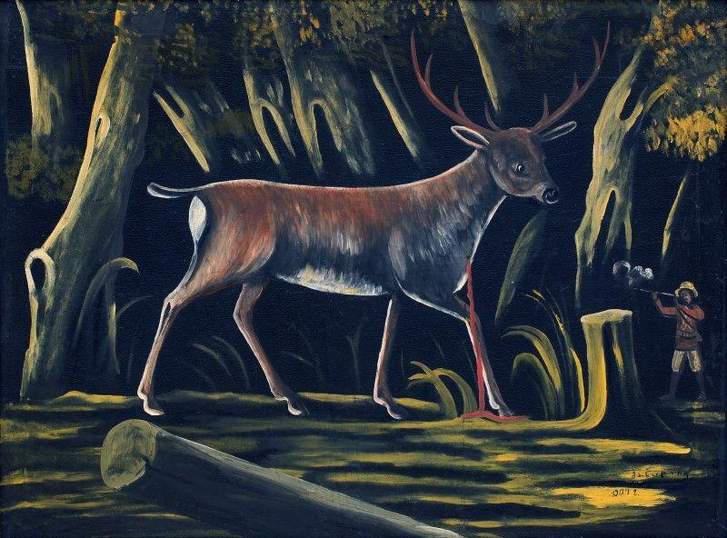 Hunter - Niko Pirosmani