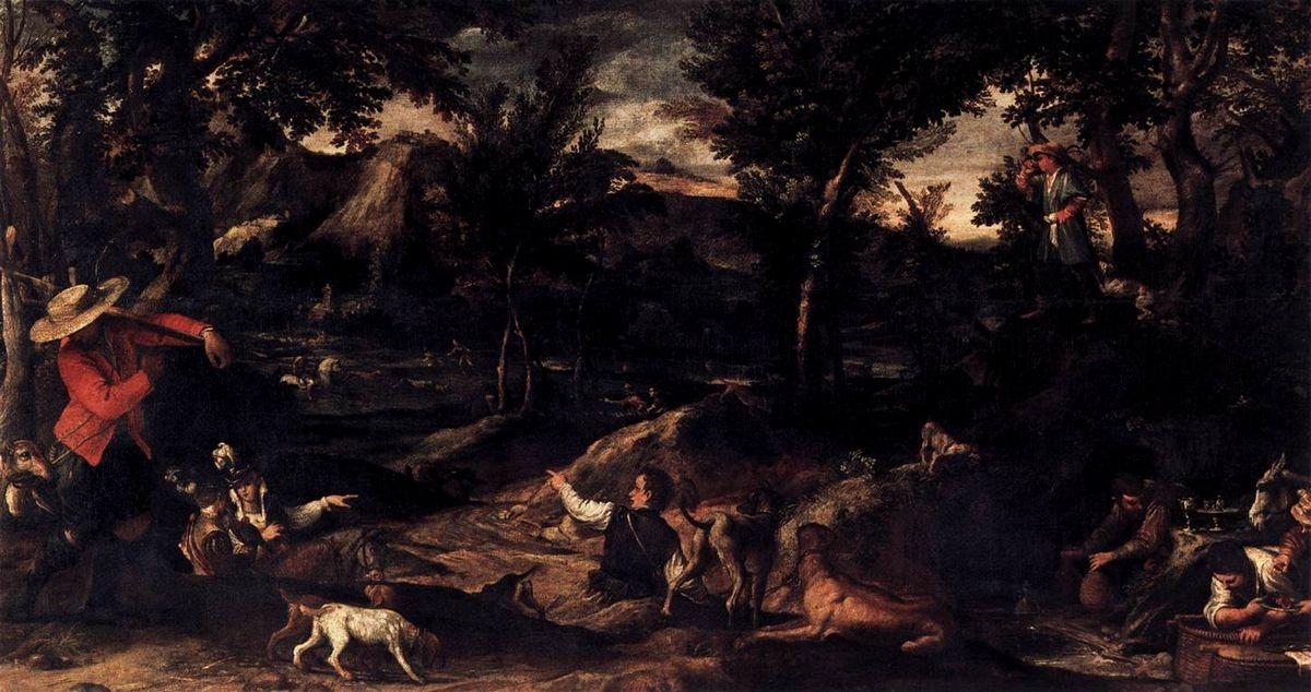 Hunting - Annibale Carracci