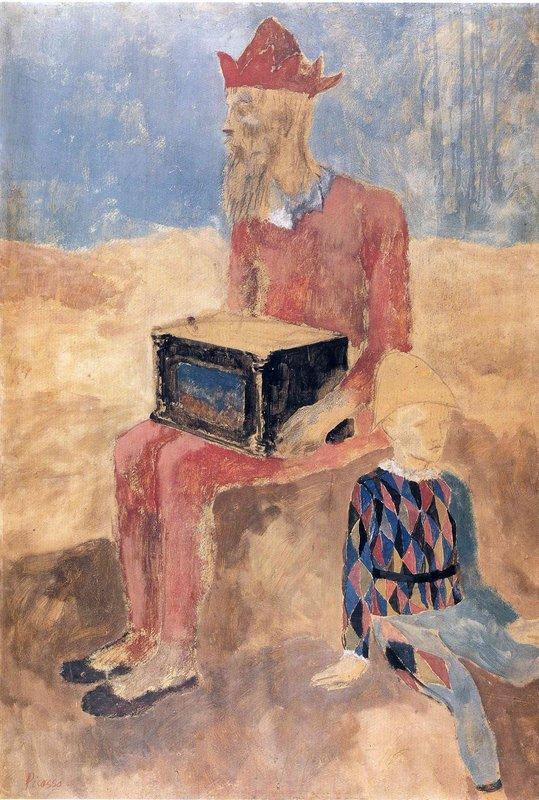 Hurdy-gurdy - Pablo Picasso