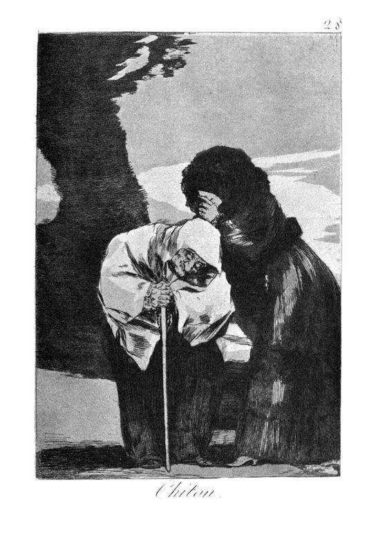 Hush - Francisco Goya