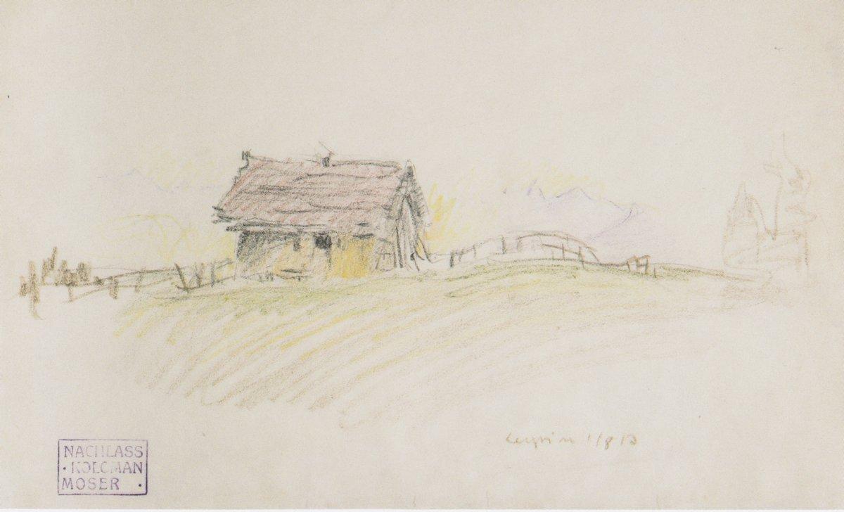 Hut in Leysin - Koloman Moser