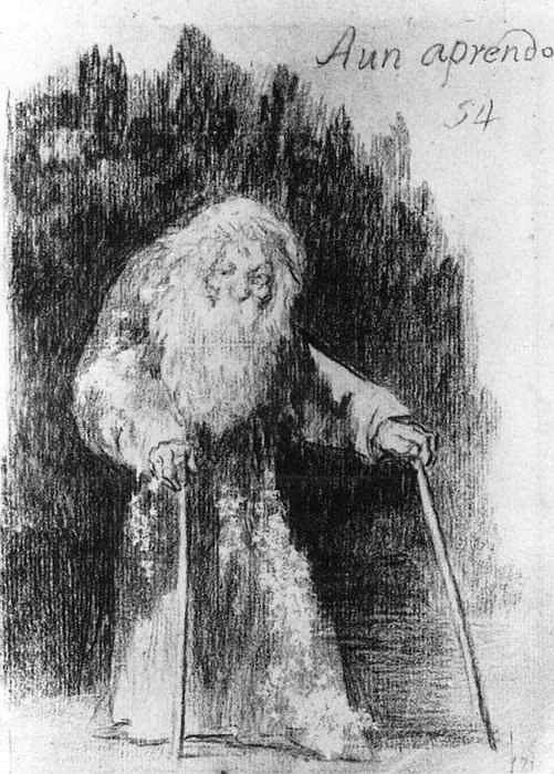 I am Still Learning - Francisco Goya