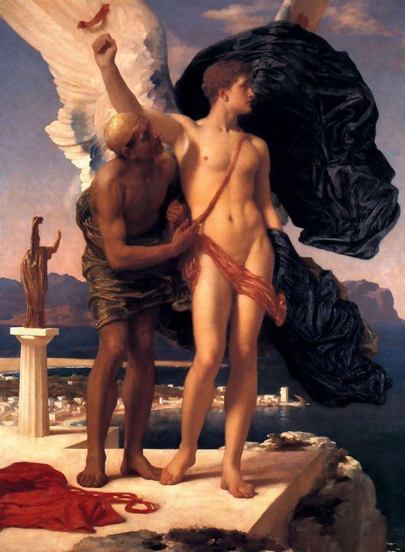 Icarus and Daedalus - Frederic Leighton