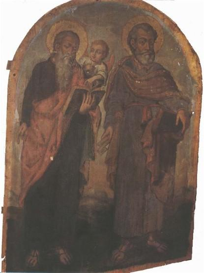 Icon of Apostles Peter and Matthew  - Yov Kondzelevych