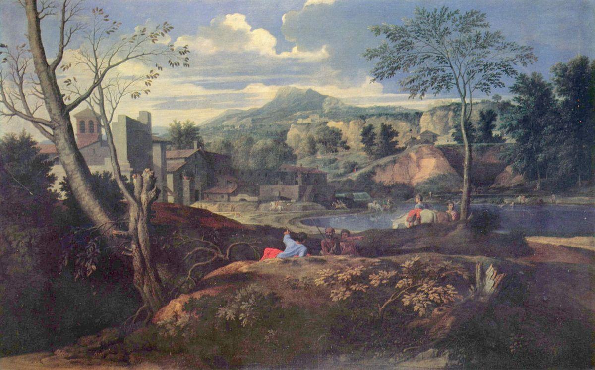 Ideal Landscape - Nicolas Poussin