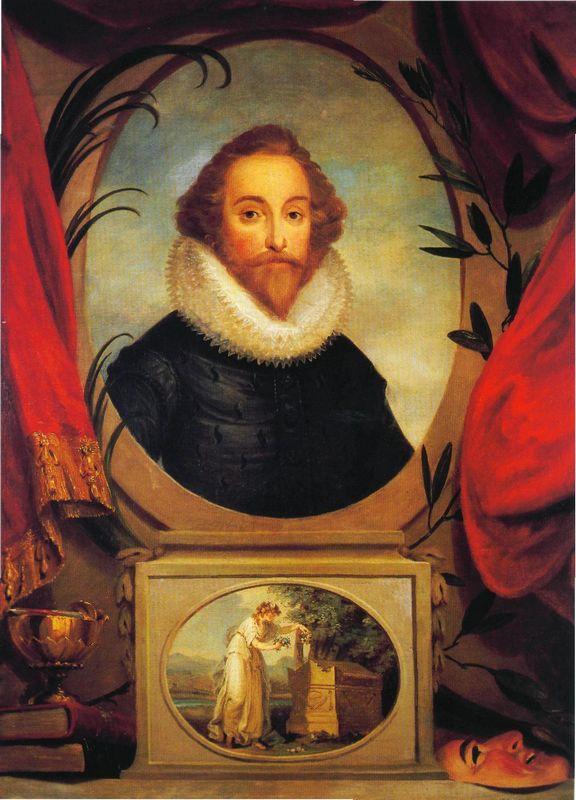 Ideal portrait of Shakespeare - Angelica Kauffman