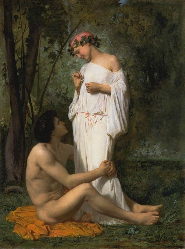 Idylle - William-Adolphe Bouguereau