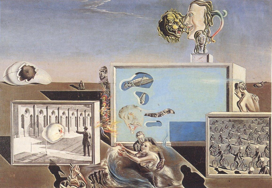 Illumined Pleasures - Salvador Dali