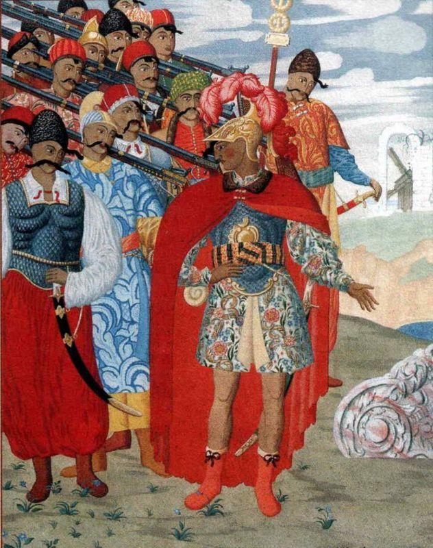 Illustration for 'Aeneid' by I. Kotlyarevsky - Heorhiy Narbut
