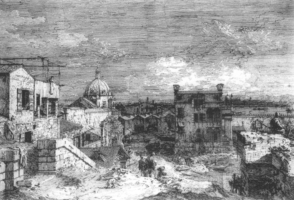 Imaginary View of Venice - Canaletto
