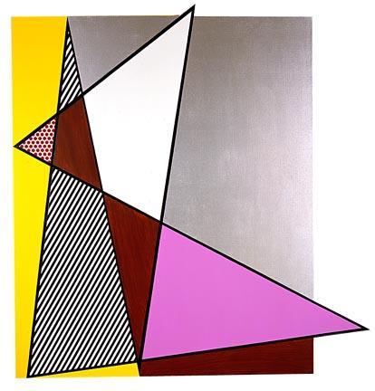 Imperfect painting - Roy Lichtenstein