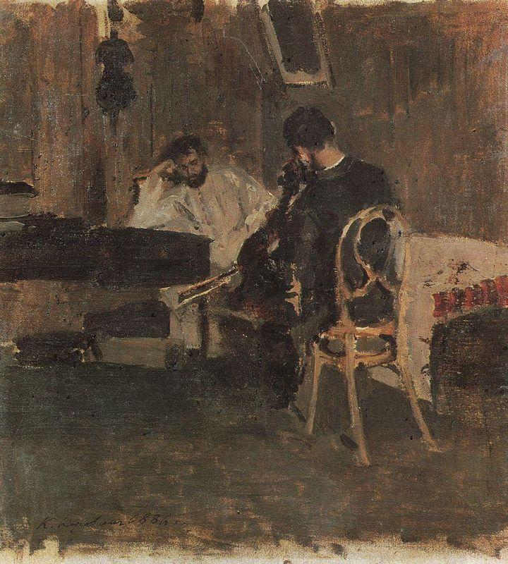 In a Room - Konstantin Korovin