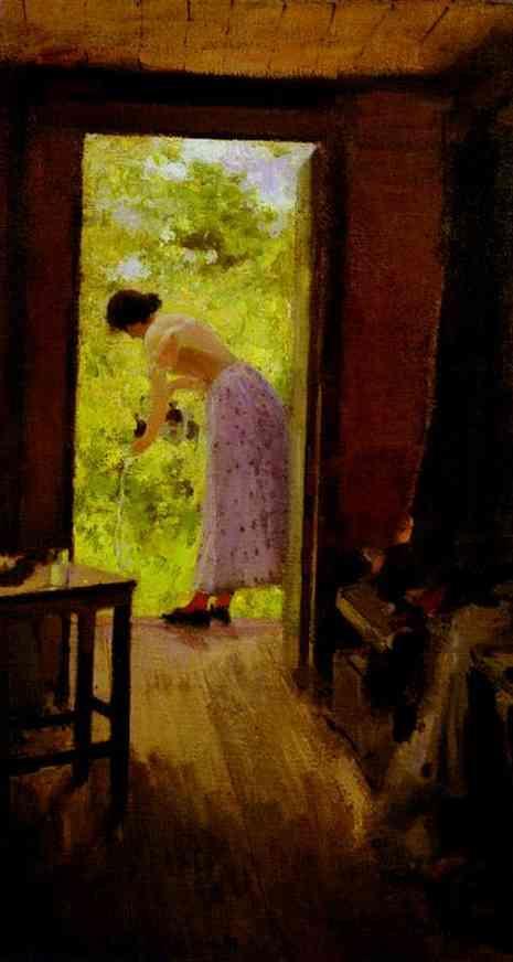 In a Summer Cottage - Konstantin Korovin
