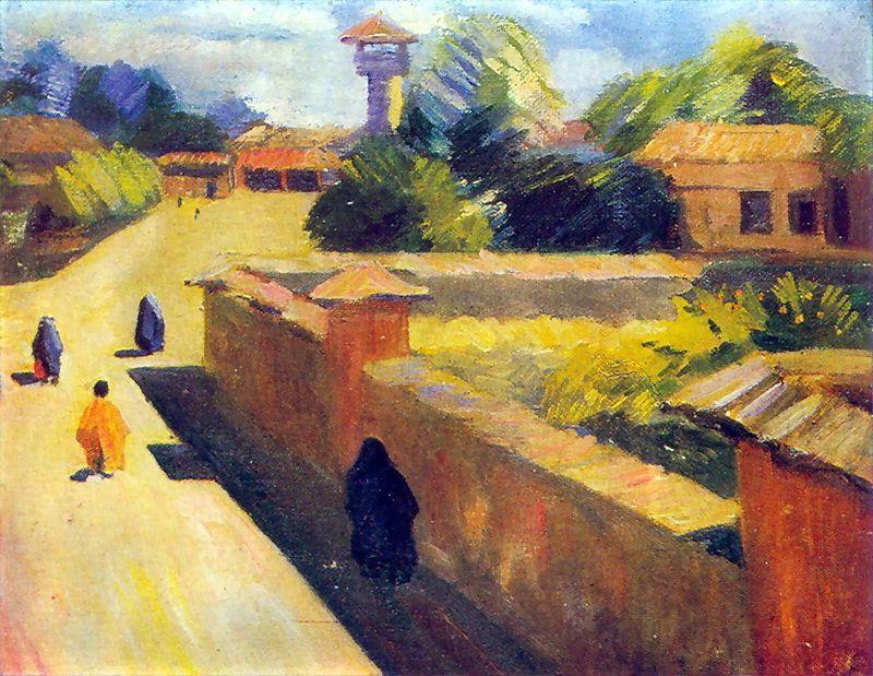 In Barfursh. Persia. - Martiros Saryan