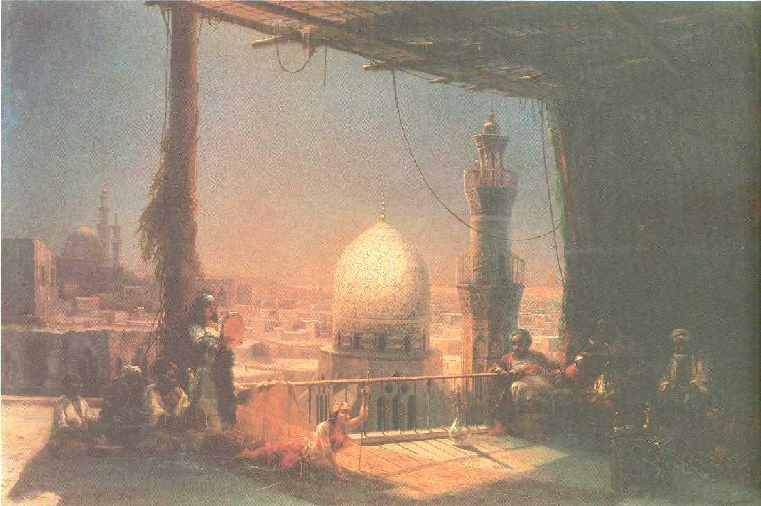 In Cairo - Ivan Aivazovsky