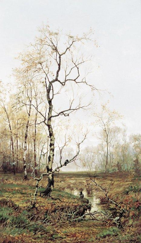 In Forest after Spring - Efim Volkov