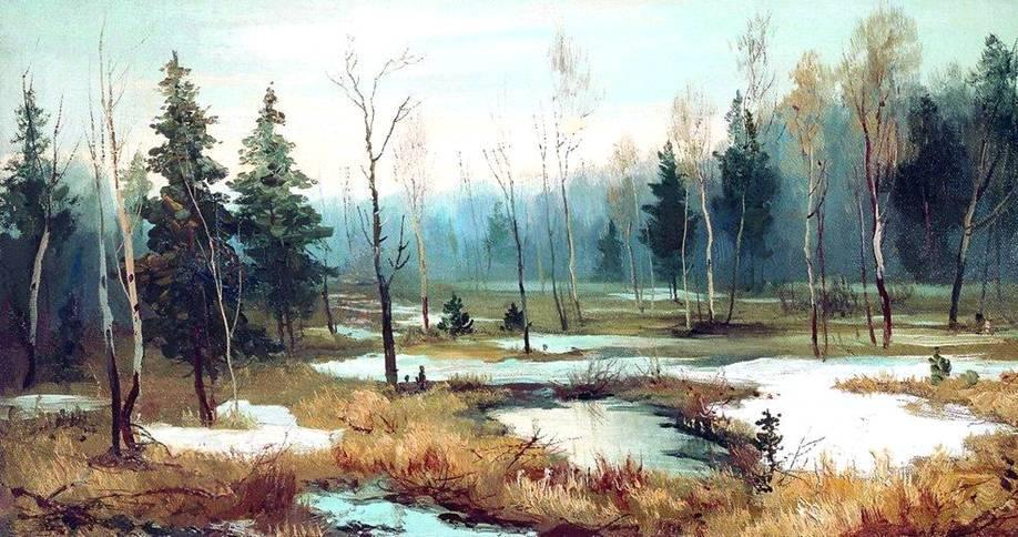 In Late winter - Efim Volkov
