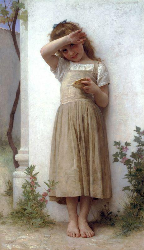 In Penitence - William-Adolphe Bouguereau
