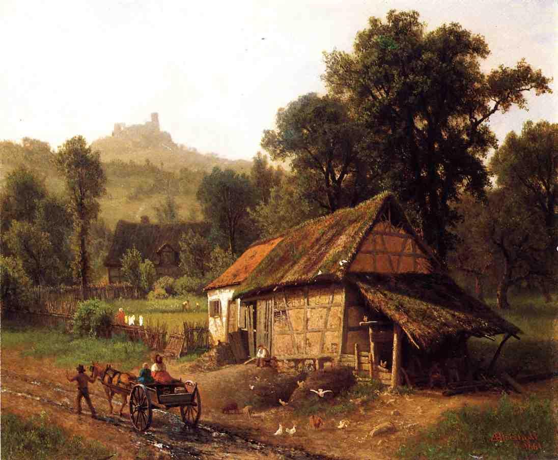 In the Foothills - Albert Bierstadt