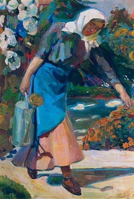In the garden  - Nikolaos Lytras