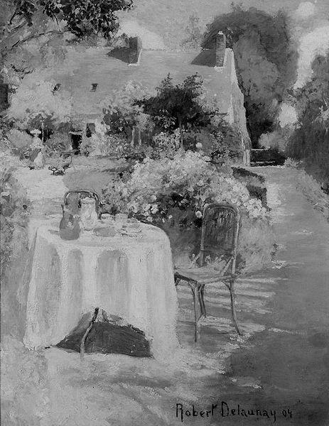 In the Garden - Alfred Stevens