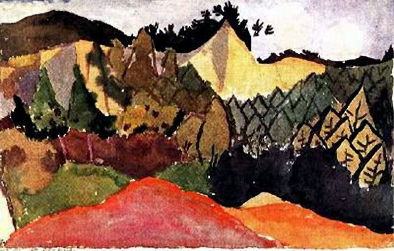In the Quarry - Paul Klee
