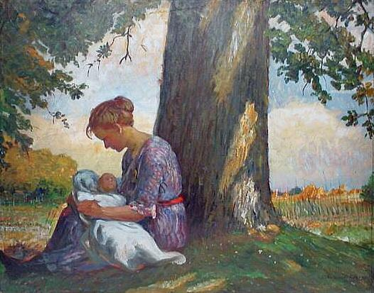In the Shade - Nikolay Bogdanov-Belsky
