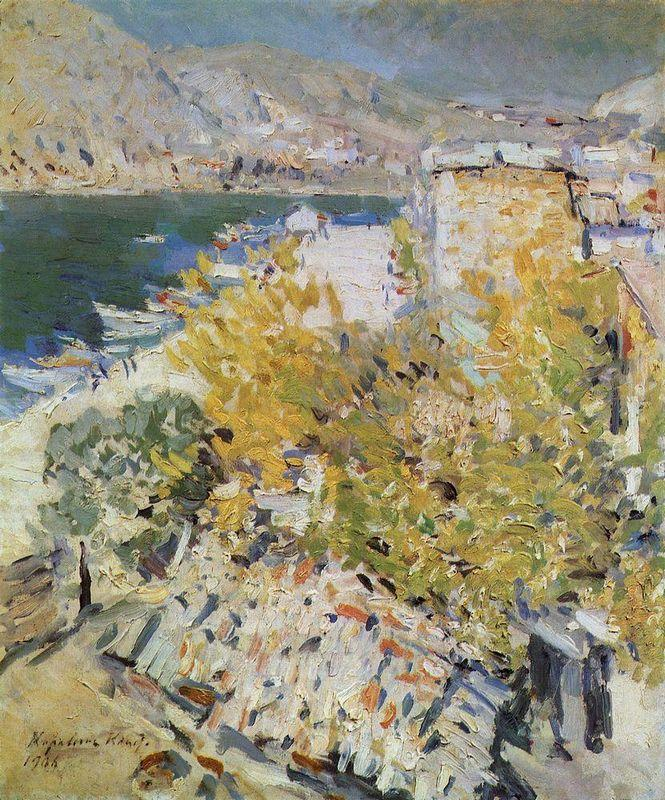 In the south  - Konstantin Korovin