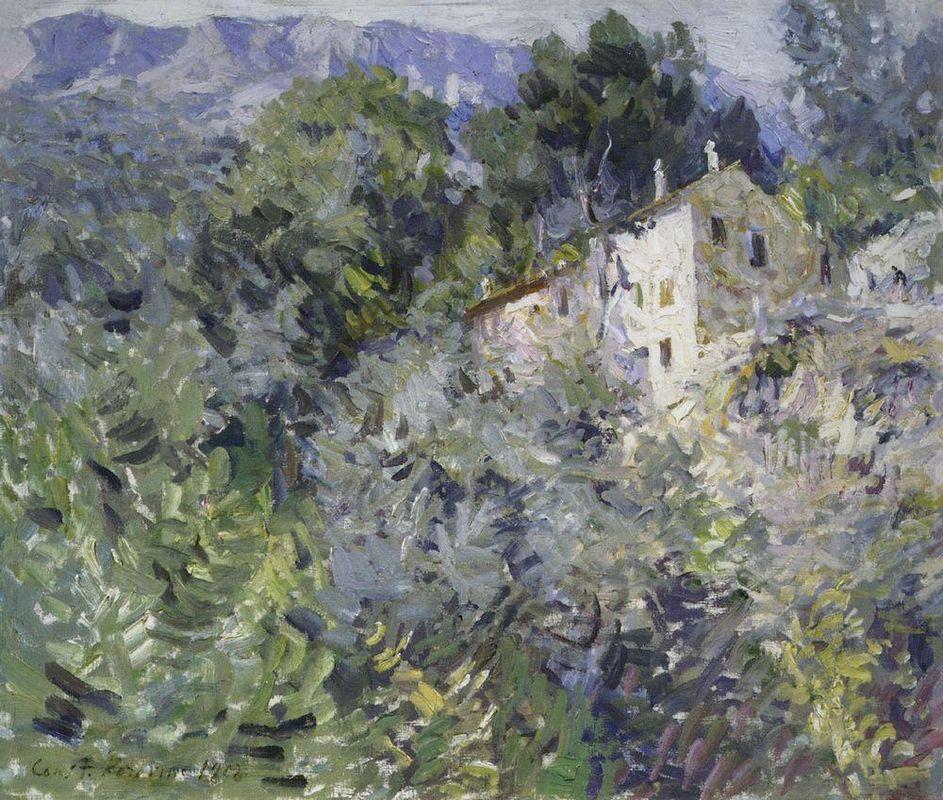 In the south of France  - Konstantin Korovin
