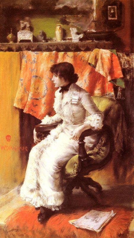In The Studio - William Merritt Chase