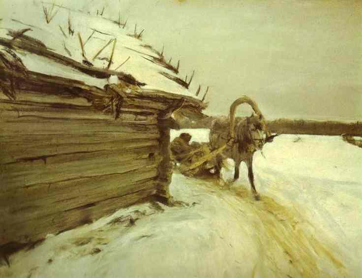 In Winter  - Valentin Serov