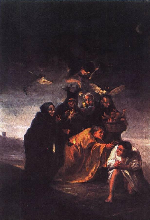 Incantation - Francisco Goya