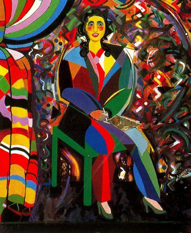 Incognito - Miriam Schapiro