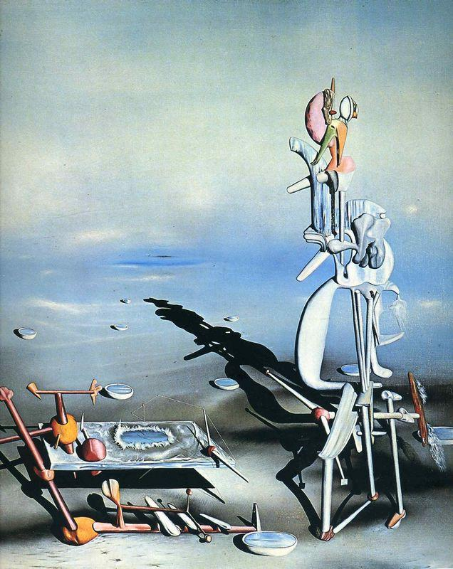 Indefined Divisibility - Yves Tanguy