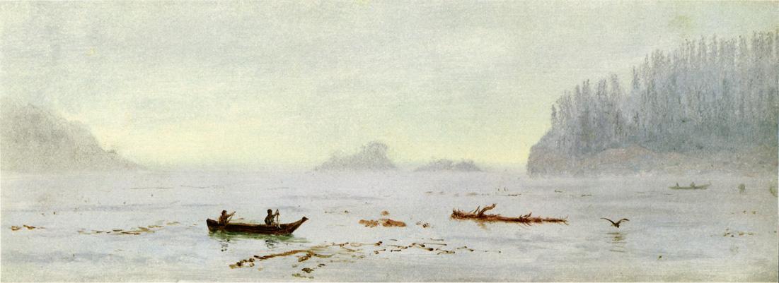 Indian Fisherman - Albert Bierstadt
