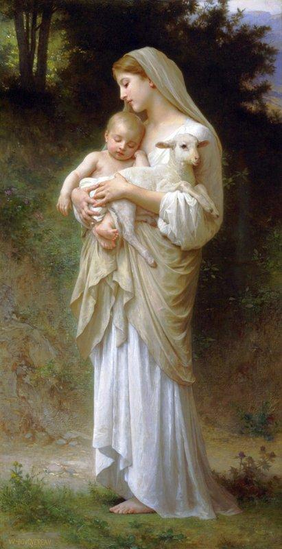 Innocence - William-Adolphe Bouguereau