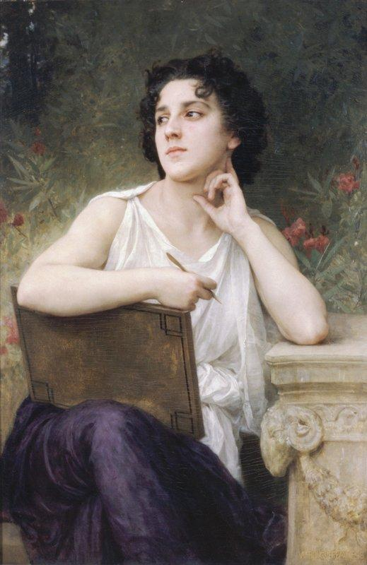 Inspiration - William-Adolphe Bouguereau