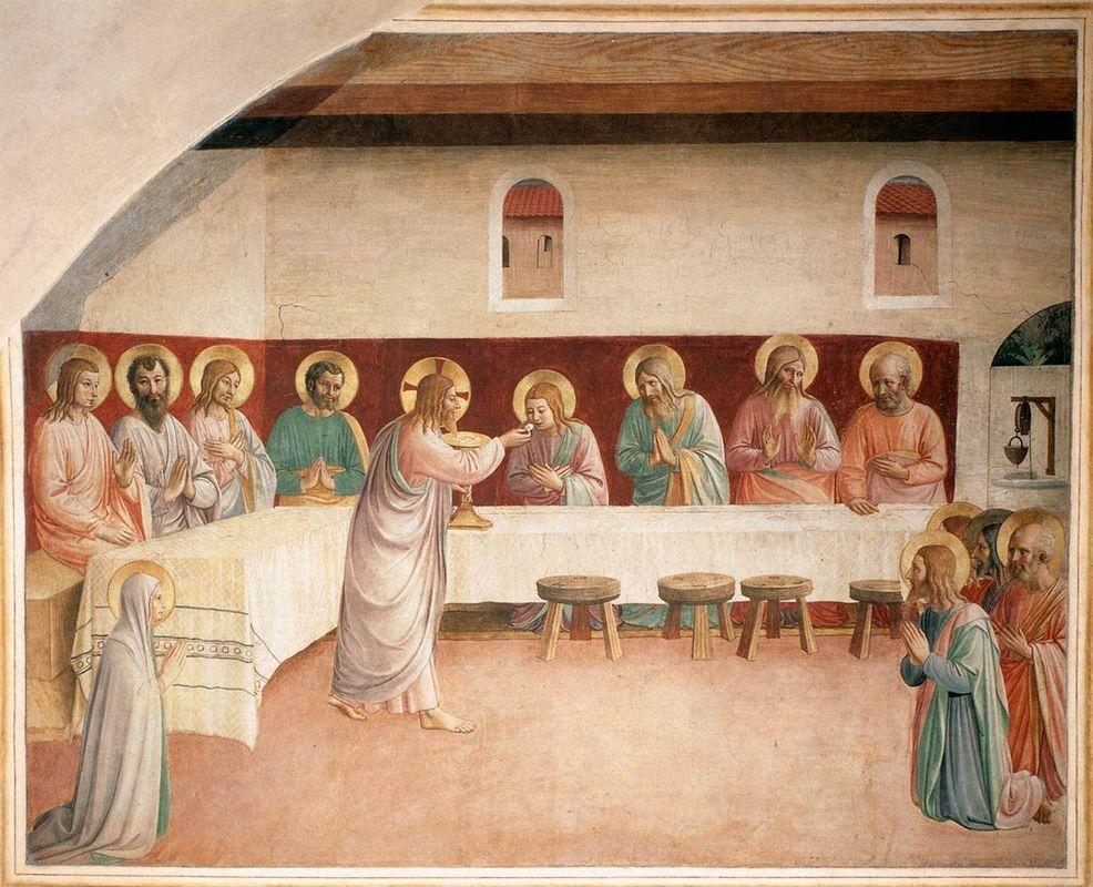 Institution of the Eucharist  - Fra Angelico