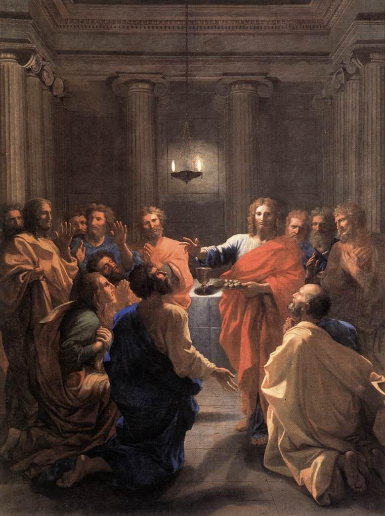 Institution of the Eucharist - Nicolas Poussin