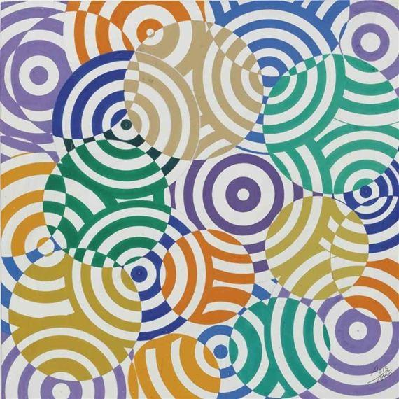 Interferences polychromes (No. 636) - Antonio Asis