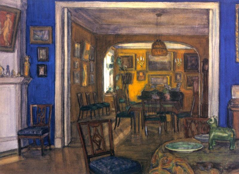 Interieur - Alexandre Benois
