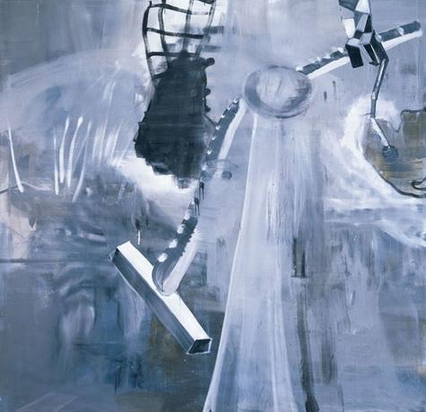 Interior - Albert Oehlen
