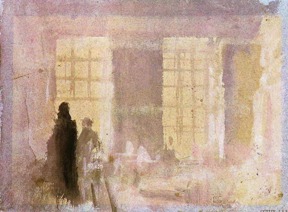 Interior at Petworth - William Turner