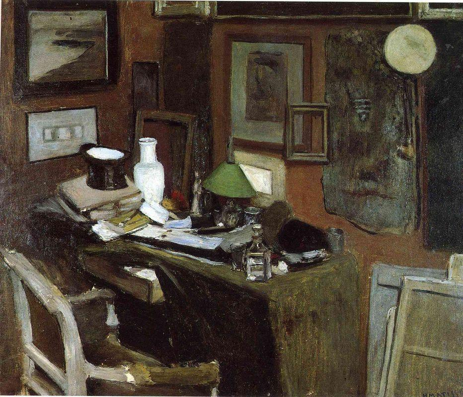 Interior with a top hat  - Henri Matisse