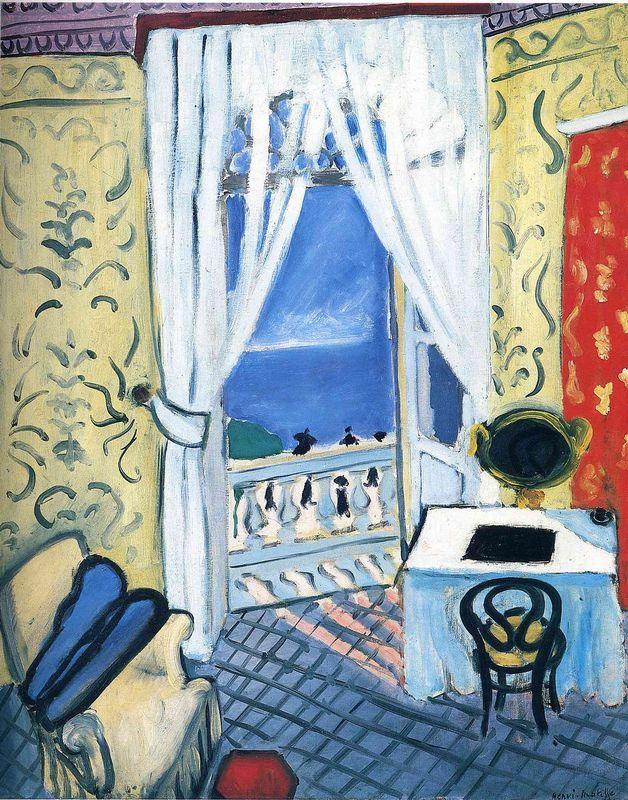 Interior with a Violin Case - Henri Matisse