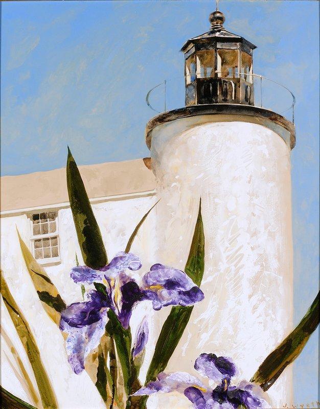 Iris at Sea - Jamie Wyeth
