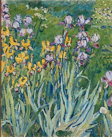 Irises - Pyotr Konchalovsky